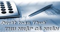 Công văn số 4453/TCT-TNCN về việc quyết toán thuế TNCN khi doanh nghiệp giải thể